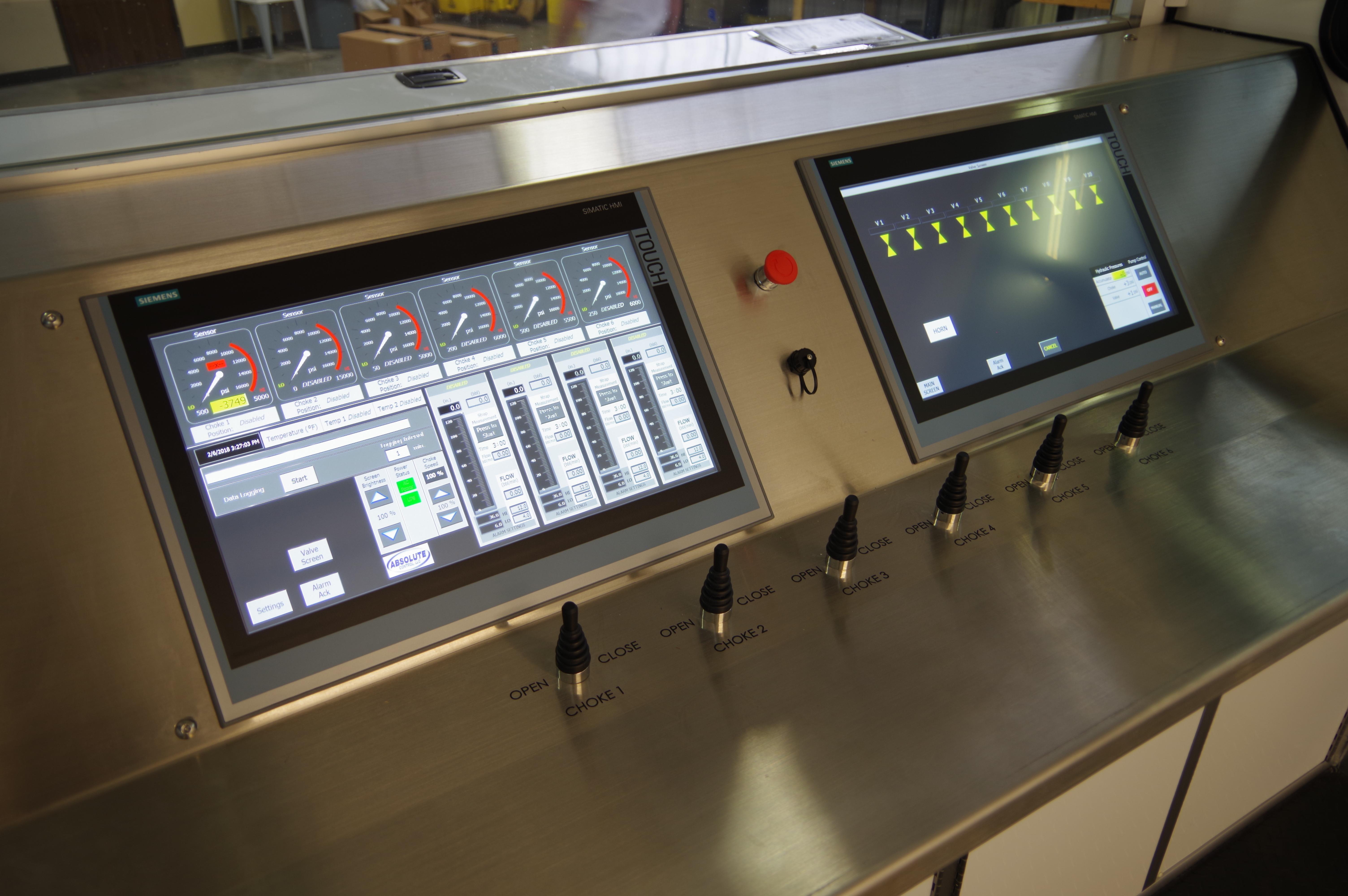 hydraulic control equipment